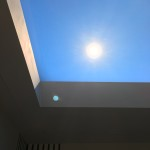 View looking into the CoeLux® Skylight