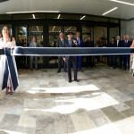 Official Ribbon Cutting by President Marc Metrick