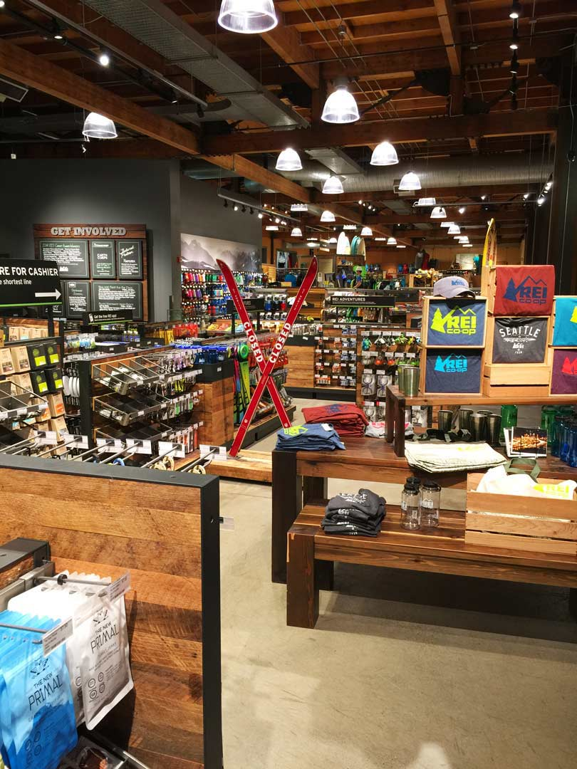 Rei Seattle Flagship Store Lighting Redesign Oculus