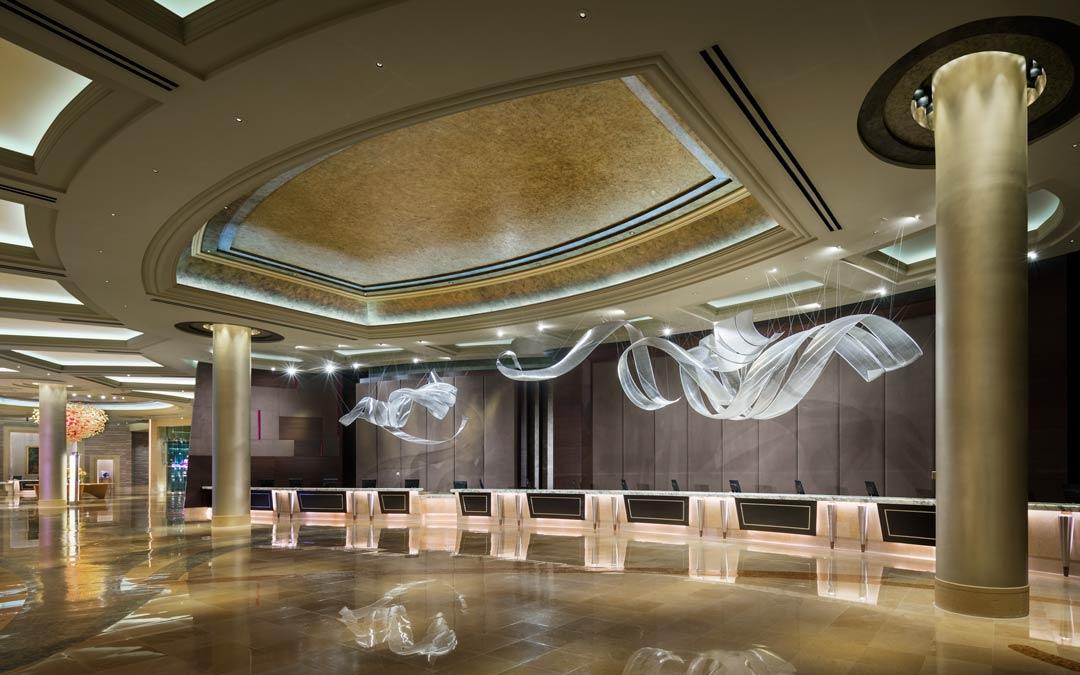 Borgata Hotel Reception Atlantic City Nj Oculus Light Studio