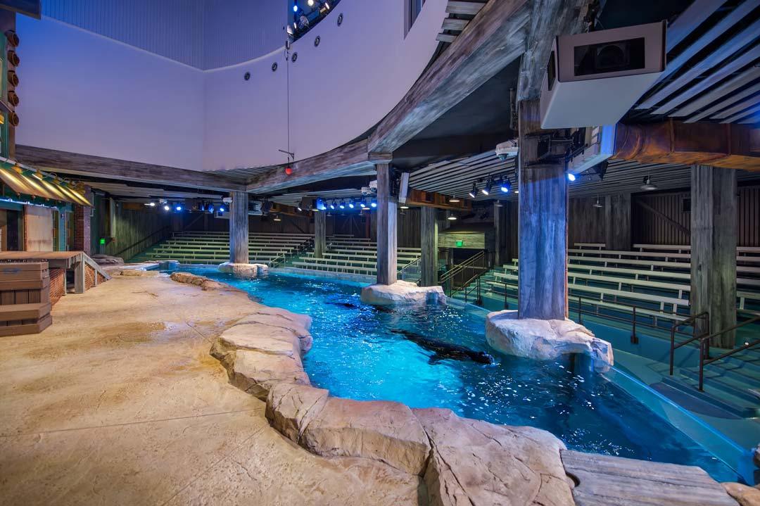 Georgia Aquarium Suntrust Pier Atlanta Ga Oculus Light