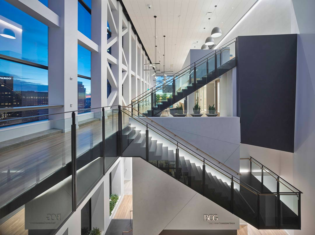 Boston Consulting Group Offices Los Angeles Ca Oculus Light Studio