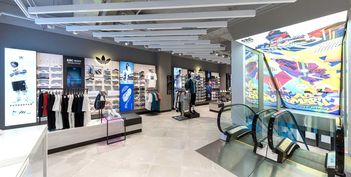 6fa3a105291 Nike ABC Mart Grand Stage, Seoul, Korea | Oculus Light Studio